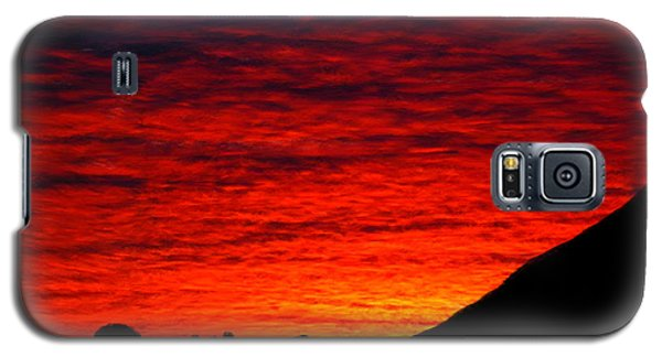Sunset In The Desert Galaxy S5 Case