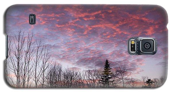 Sunset Jonesport Maine  Galaxy S5 Case by Trace Kittrell