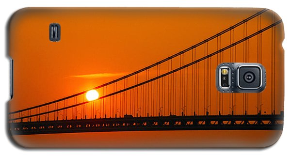 Verrazano Sunset Galaxy S5 Case