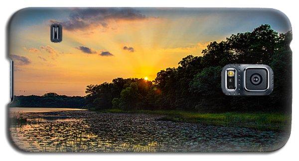 Sunset On Lake Masterman Galaxy S5 Case
