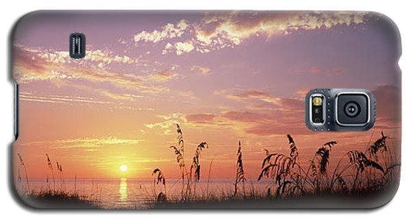 Venice Beach Galaxy S5 Case - Sunset Over The Sea, Venice Beach by Panoramic Images