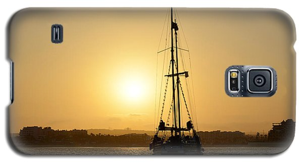 Galaxy S5 Case featuring the photograph Sunset Sailing In Cabo by Christine Till