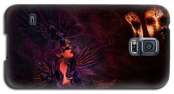 Galaxy S5 Case featuring the digital art Supplication 06301301 - By Kylie Sabra by Kylie Sabra