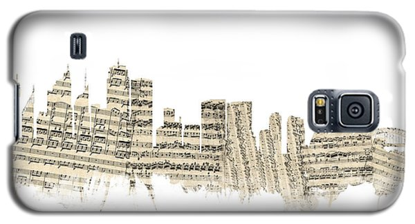 Sydney Australia Skyline Sheet Music Cityscape Galaxy S5 Case