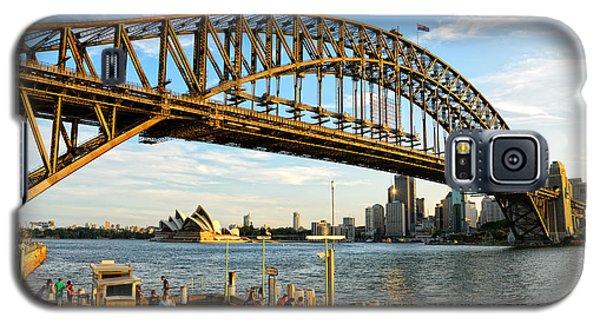Sydney Harbour Bridge Arching Gracefully Over Sydney Harbour Galaxy S5 Case