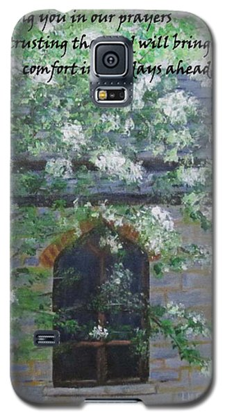 Sympathy Card With Church Galaxy S5 Case