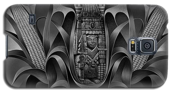 Tapestry Of Gods - Chicomecoatl Galaxy S5 Case
