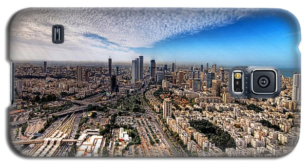 Tel Aviv Skyline Galaxy S5 Case