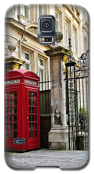 Telephone Box In London Galaxy S5 Case