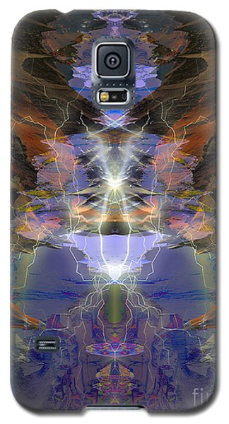 Tesla's Coil Galaxy S5 Case by Ursula Freer