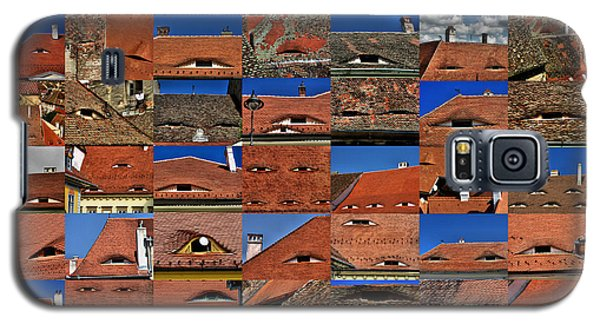 The City's Eyes Sibiu Hermannstadt Romania Galaxy S5 Case