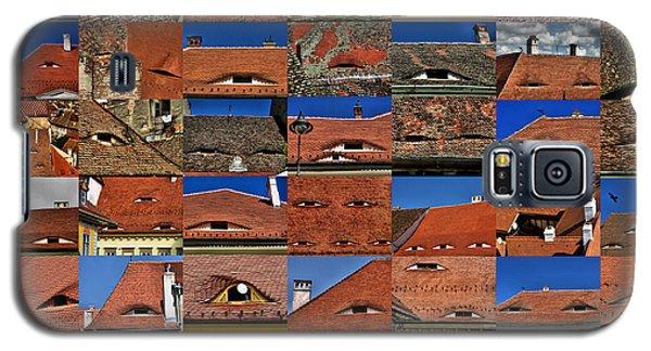 The City's Eyes Sibiu Hermannstadt Romania Galaxy S5 Case
