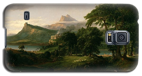 The Course Of Empire The Arcadian Or Pastoral State Galaxy S5 Case
