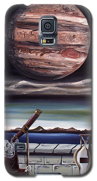 Galaxy S5 Case featuring the painting The Eternal Staring Contest by Ryan Demaree