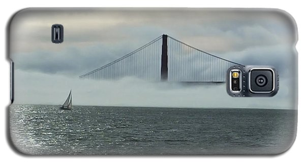 The Golden Gate Galaxy S5 Case by Judy  Johnson
