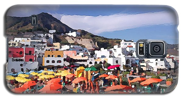 Galaxy S5 Case featuring the photograph The Island Of Ischia Sant'angelo by Ze  Di
