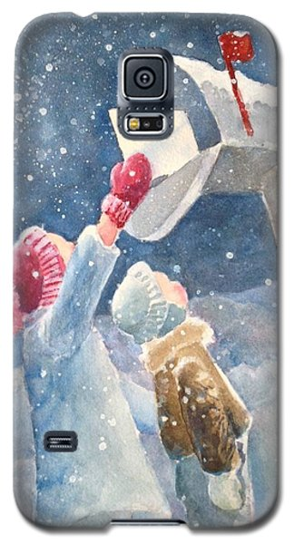 The Letter Galaxy S5 Case by Marilyn Jacobson