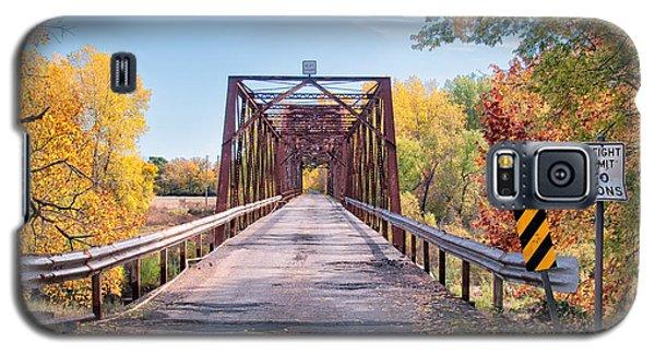 The Old River Bridge Galaxy S5 Case