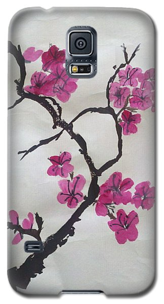 The Plum Blossom Galaxy S5 Case