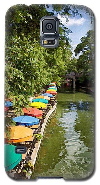 The River Walk Galaxy S5 Case by Erika Weber