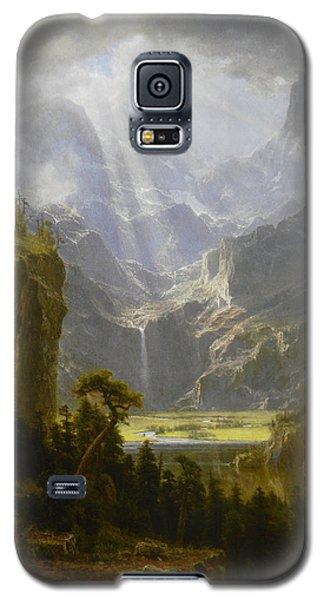 The Rocky Mountains Lander's Peak Galaxy S5 Case