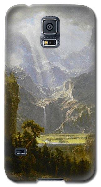 The Rocky Mountains Lander's Peak Galaxy S5 Case