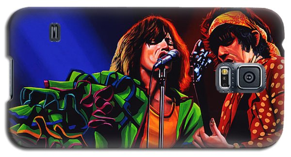 Rolling Stone Magazine Galaxy S5 Case - The Rolling Stones 2 by Paul Meijering