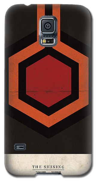 Galaxy S5 Case featuring the digital art The Shining by Mike Taylor