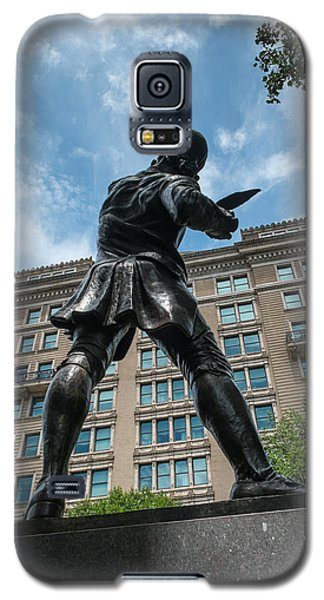 Galaxy S5 Case featuring the photograph The Signer by Glenn DiPaola