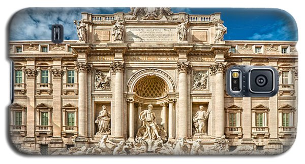 The Trevi Fountain - Rome Galaxy S5 Case by Luciano Mortula