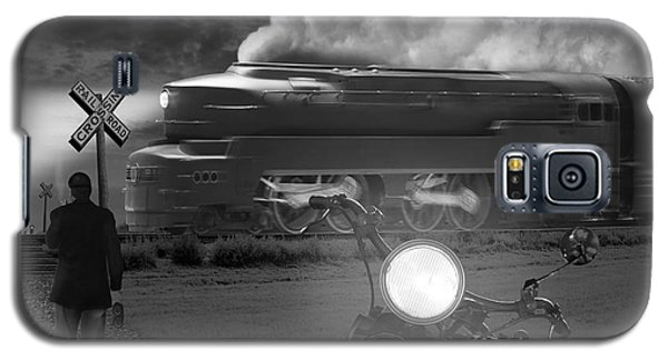 White Horse Galaxy S5 Case - The Wait by Mike McGlothlen