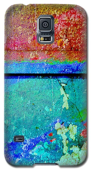 The Wall Abstract Photograph Galaxy S5 Case by Ann Powell