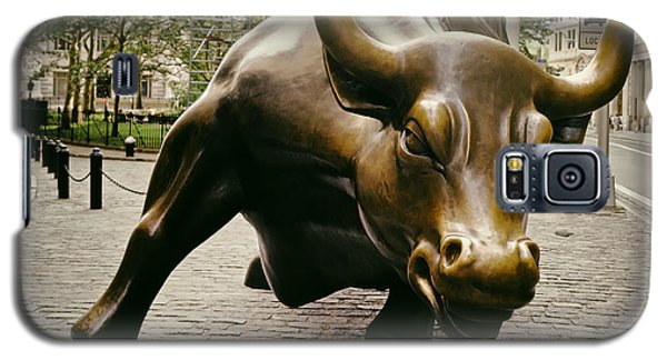 The Wall Street Bull Galaxy S5 Case