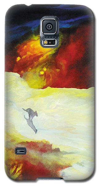 The Wolf's Song Galaxy S5 Case by The Art of Marsha Charlebois