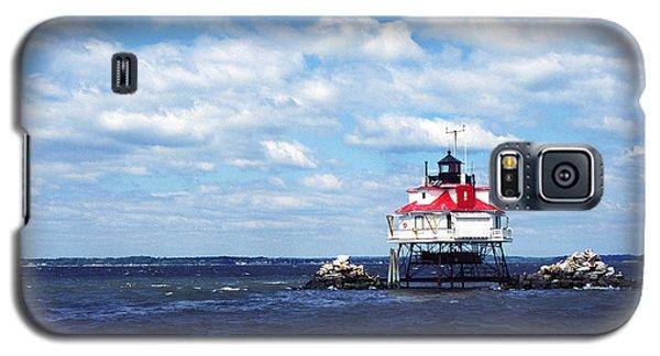 Thomas Point Shoal Lighthouse Galaxy S5 Case