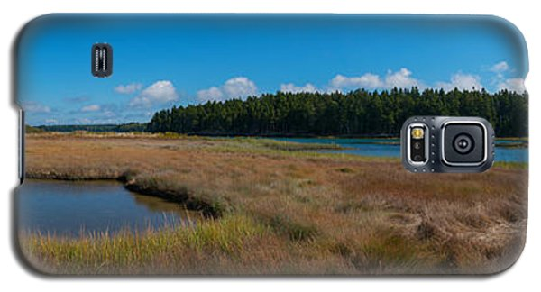 Thompson Island In Maine Panorama Galaxy S5 Case
