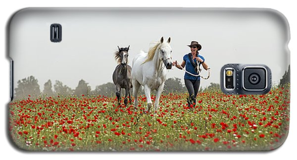 Three At The Poppies' Field... 3 Galaxy S5 Case