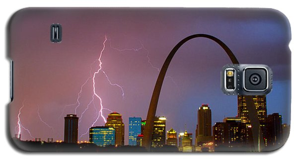Thunderstorm Over St Louis Galaxy S5 Case by Garry McMichael