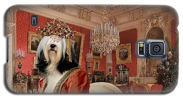 Tibetan Terrier Art Canvas Print Galaxy S5 Case