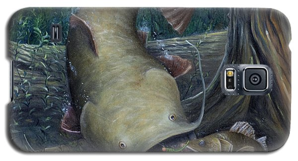 Catfish Galaxy S5 Case - Top Dog by Catfish Lawrence