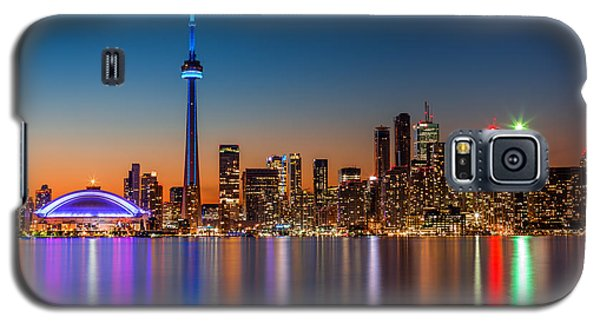 Toronto Skyline At Dusk Galaxy S5 Case