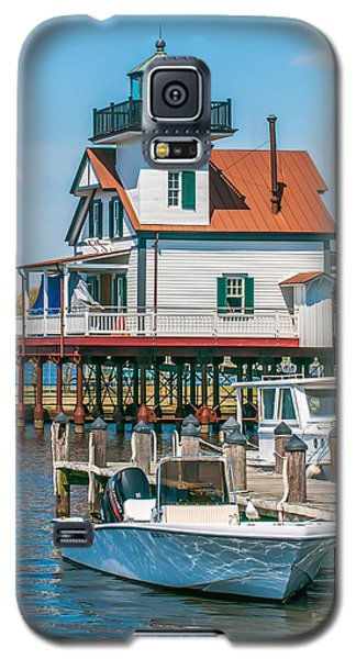Town Of Edenton Roanoke River Lighthouse In Nc Galaxy S5 Case