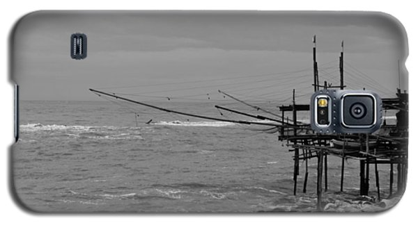 Trabocco On The Coast Of Italy  Galaxy S5 Case