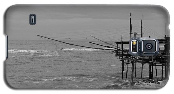 Trabocco On The Coast Of Italy  Galaxy S5 Case by Andrea Mazzocchetti