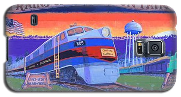 Trains Of Pine Mountain Galaxy S5 Case