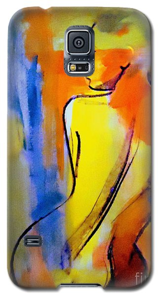 Galaxy S5 Case featuring the painting Tranquility by Helena Wierzbicki