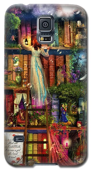 Treasure Hunt Book Shelf Galaxy S5 Case by Aimee Stewart