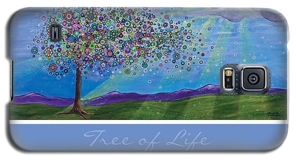 Tree Of Life Galaxy S5 Case by Tanielle Childers