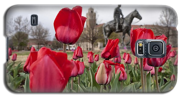 Tulips At Texas Tech University Galaxy S5 Case