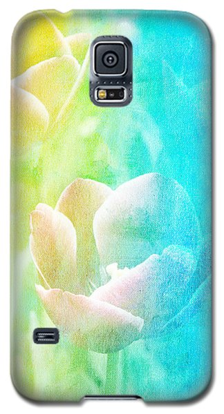 Galaxy S5 Case featuring the photograph Tulips by James Bethanis
